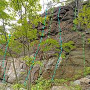 Rock Climbing Photo: Top Shelf right M. Further Bus R. Allowed she wo...
