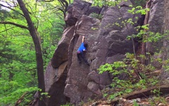 Rock Climbing Photo: don't show my mom.