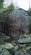 Rock Climbing Photo: Good picture of the climb. The start is really fun...