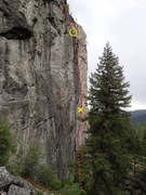 Rock Climbing Photo: In Depth topo