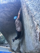 "Nate getting into the tiny crimps on ""Sean Can't Even"", V3."