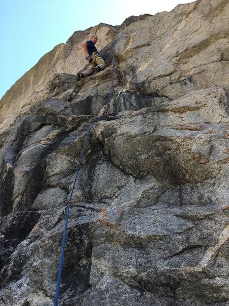 Rock Climbing Photo: Axed.