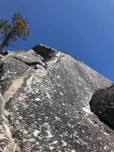 Rock Climbing Photo: There is no rock greater than sweet Yosemite Grani...