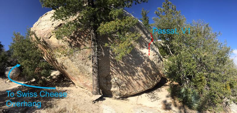 Rock Climbing Photo: beta for Passat