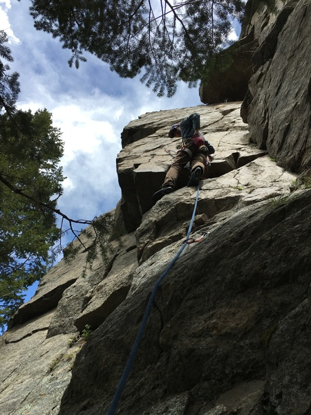 Rock Climbing Photo: Heat Wave.