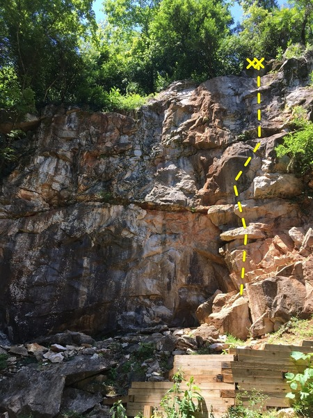 Rock Climbing Photo: Thunderstruck