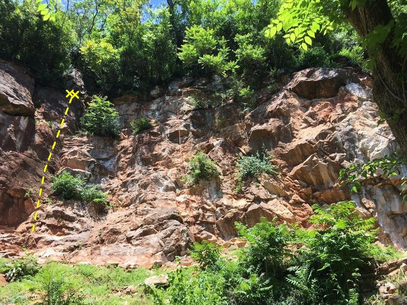 Rock Climbing Photo: Johnny's Quest