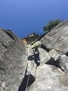 Rock Climbing Photo: Golden Needles double cracks!