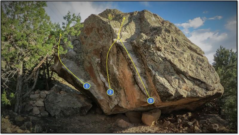 Rock Climbing Photo: 2. Living Extinction.