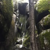 Dave's Grotto, hidden in the mountainside above Wawona