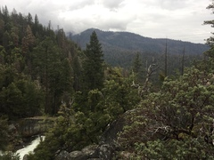 Rock Climbing Photo: On top of the Lower Falls, and the classic Angel W...
