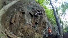 Rock Climbing Photo: A caption.