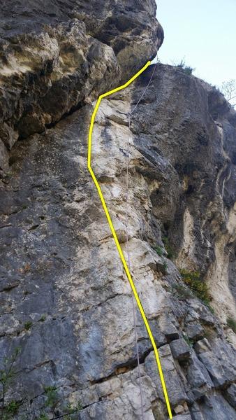 Rock Climbing Photo: La Blanche.