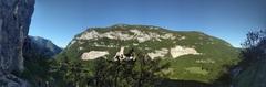 Rock Climbing Photo: View of Le Vuache, the mountain across from Leaz