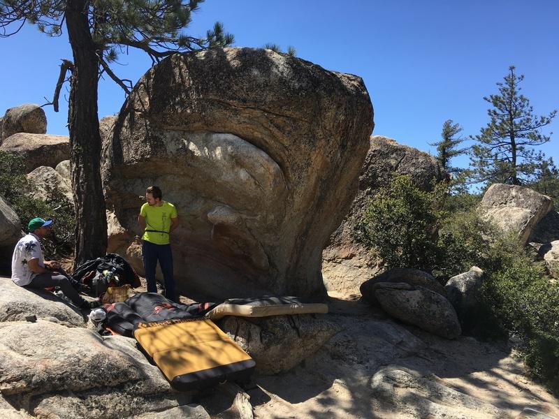 Rock Climbing Photo: The Fridge Boulder