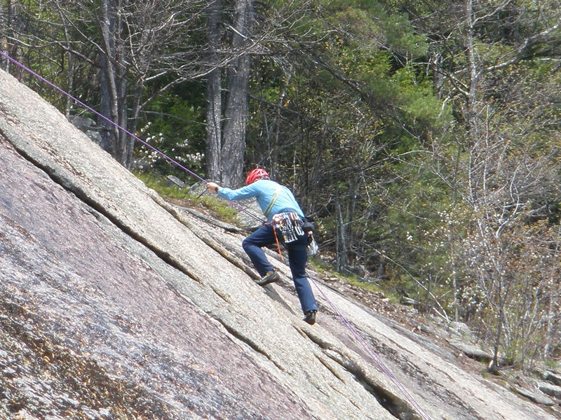 Rock Climbing Photo: Even a 73m rope doesn't make it single! Here RW ha...
