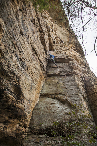 Rock Climbing Photo: whats left of kyle
