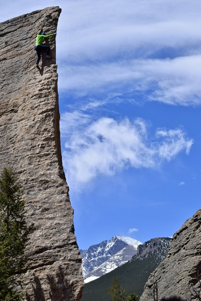 Matt Lloyd on a free solo of Edge of Time.