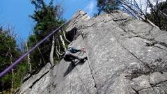 Rock Climbing Photo: Wild Black