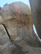Rock Climbing Photo: North Face. LOTS of bolts on this, fairly new with...