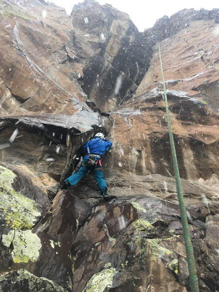 Hog Heaven during near Scottish conditions; May 19th!