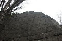 Rock Climbing Photo: Jengarete follows the right skyline