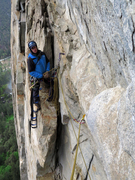 Rock Climbing Photo: Start of the first pitch