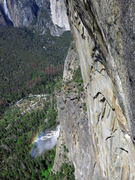 Rock Climbing Photo: Bridalveil Falls in the afternoon.