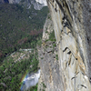 Bridalveil Falls in the afternoon.