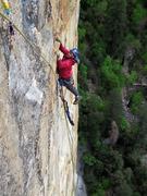 Rock Climbing Photo: Cleaning shenanigans