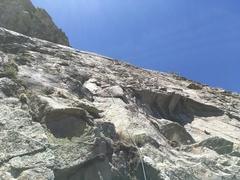 Rock Climbing Photo: Marta Reece following P1.