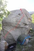 Rock Climbing Photo: Beta photo of Bull in a China Shop