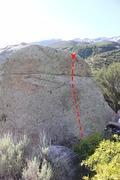 Rock Climbing Photo: Beta photo of Beginners Luck