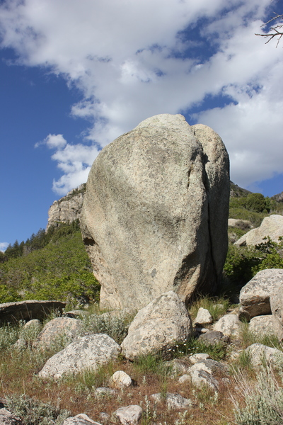 Rock Climbing Photo: Fortune Cookie Boulder