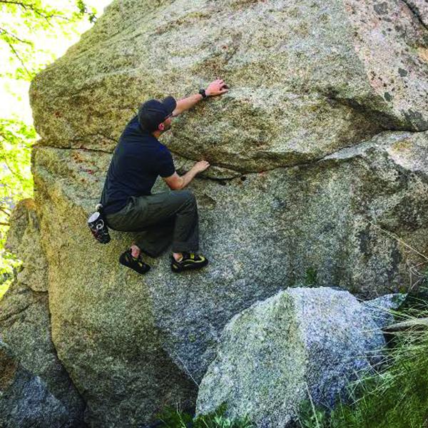 Rock Climbing Photo: Resting spot