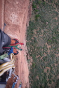 Rock Climbing Photo: Beautiful exposure on the approach to the rocker b...