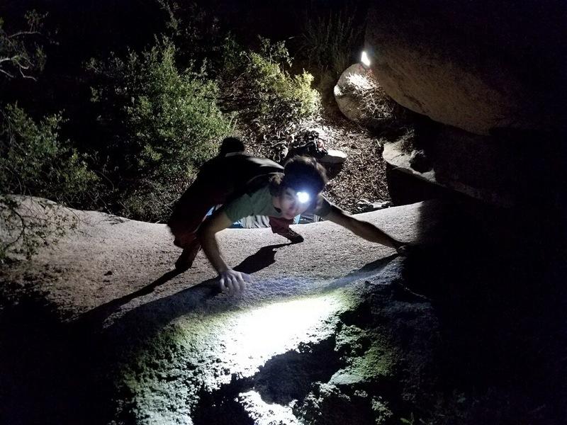 Rock Climbing Photo: Goin for the jug