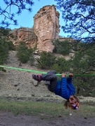 Rock Climbing Photo: Training for future projects is fun when you're th...