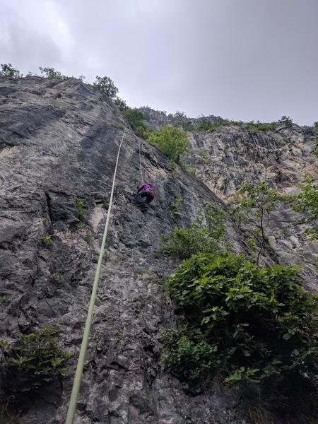Rock Climbing Photo: Luis