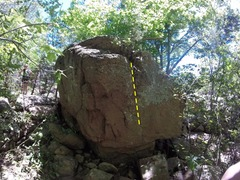 Rock Climbing Photo: The line of #3