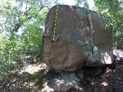 Rock Climbing Photo: The line of #43