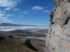 Rock Climbing Photo: Blob Crag