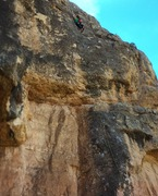 Rock Climbing Photo: Top of squeeze!