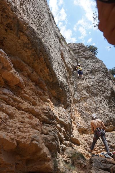 Rock Climbing Photo: Nice little warm up