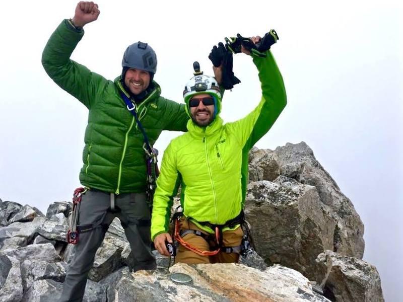 Rock Climbing Photo: Obligatory summit shot.