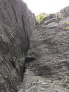 Rock Climbing Photo: Belay shot of 50 Sent.