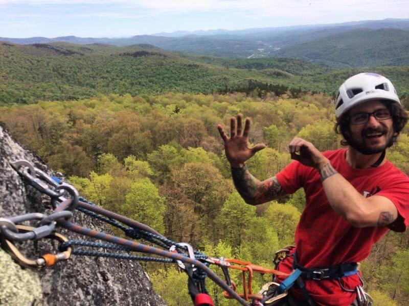 Rock Climbing Photo: 50th FA!