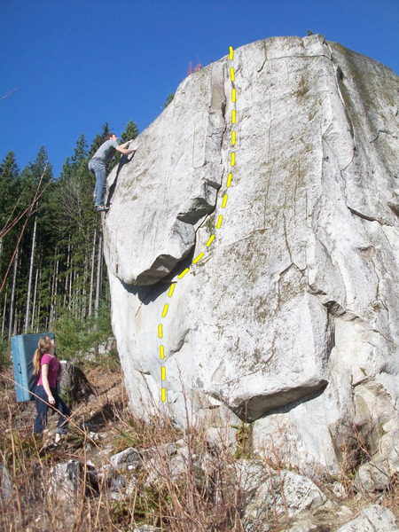 Rock Climbing Photo: Photo credit: Kelly Sheridan. Note that the clearc...