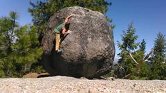 Rock Climbing Photo: Blast Off