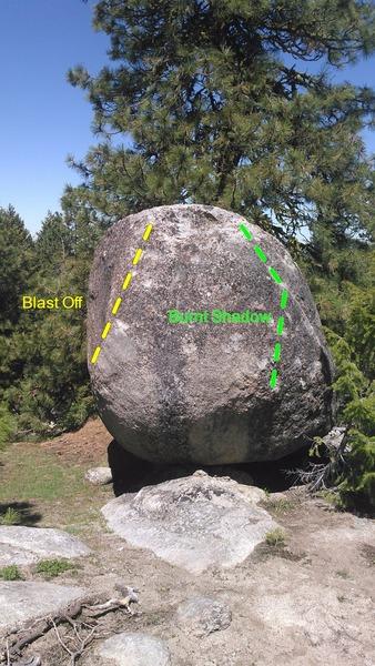 Rock Climbing Photo: Atomic Boulder